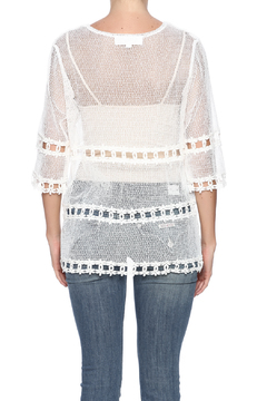 Reckless Angel White Lace Top - Alternate List Image