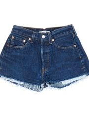 RE/DONE Reconstructed Denim Short - Product Mini Image