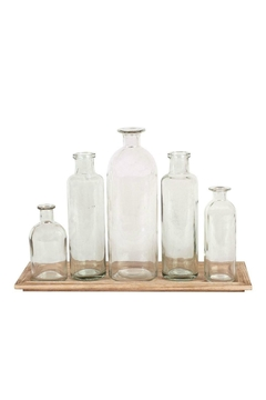 Shoptiques Product: Bottle Vase With-Tray