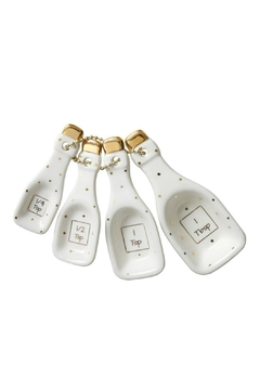 Shoptiques Product: Champagne Measuring Spoons
