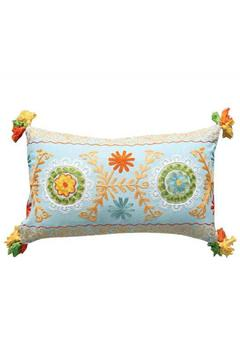 Shoptiques Product: Embroidery Tassels Pillow