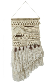 ReCreateU Hand-Woven Wall Hanging - Front cropped