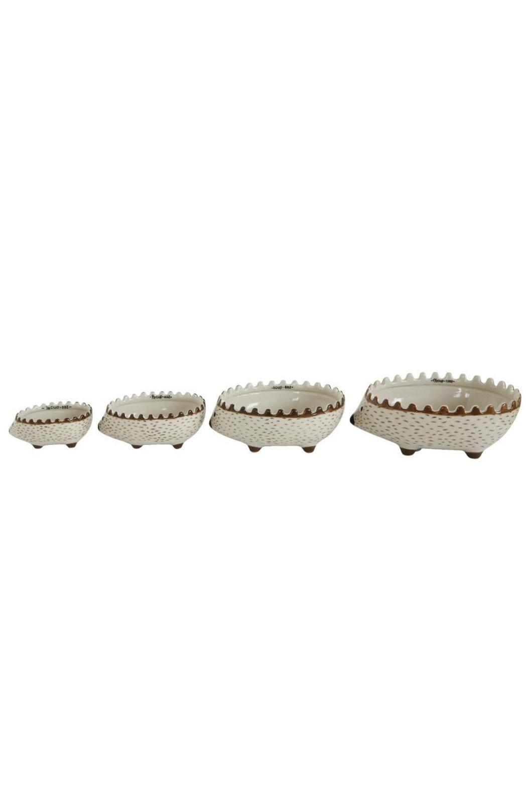 ReCreateU Hedgehog Measuring Cups - Front Cropped Image