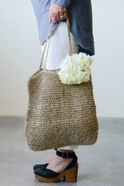 ReCreateU Jute Knotty Bag - Front cropped