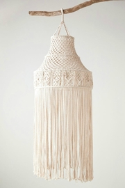 ReCreateU Macrame Hanging Canopy - Front full body