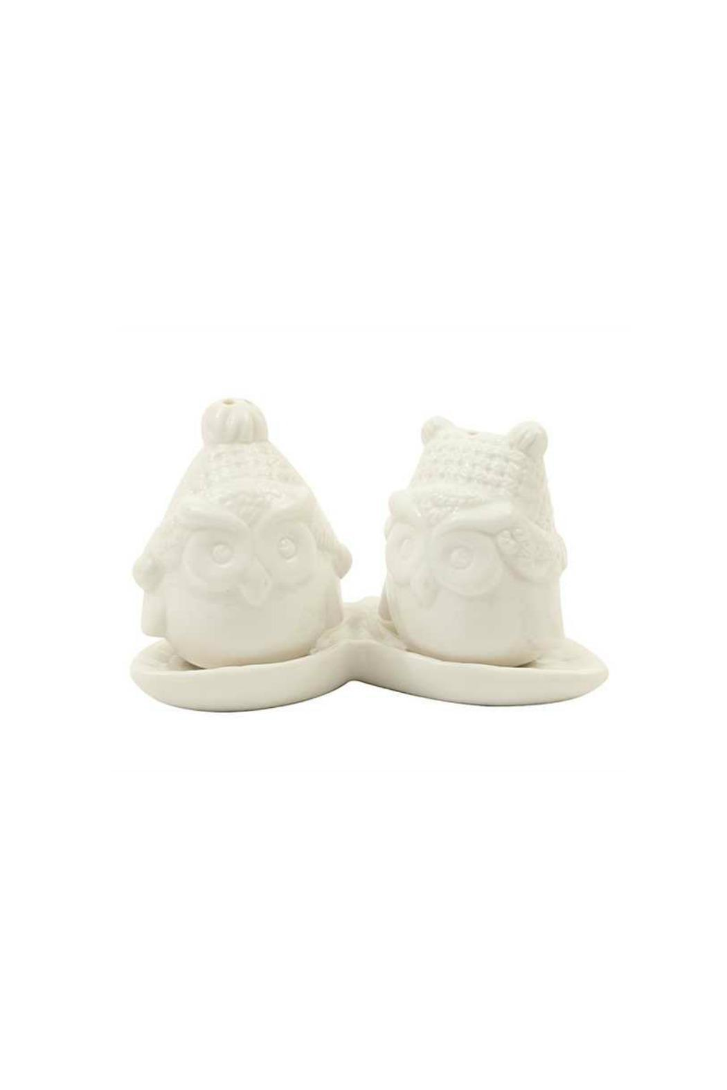ReCreateU Owl Salt & Pepper Shakers - Front Cropped Image
