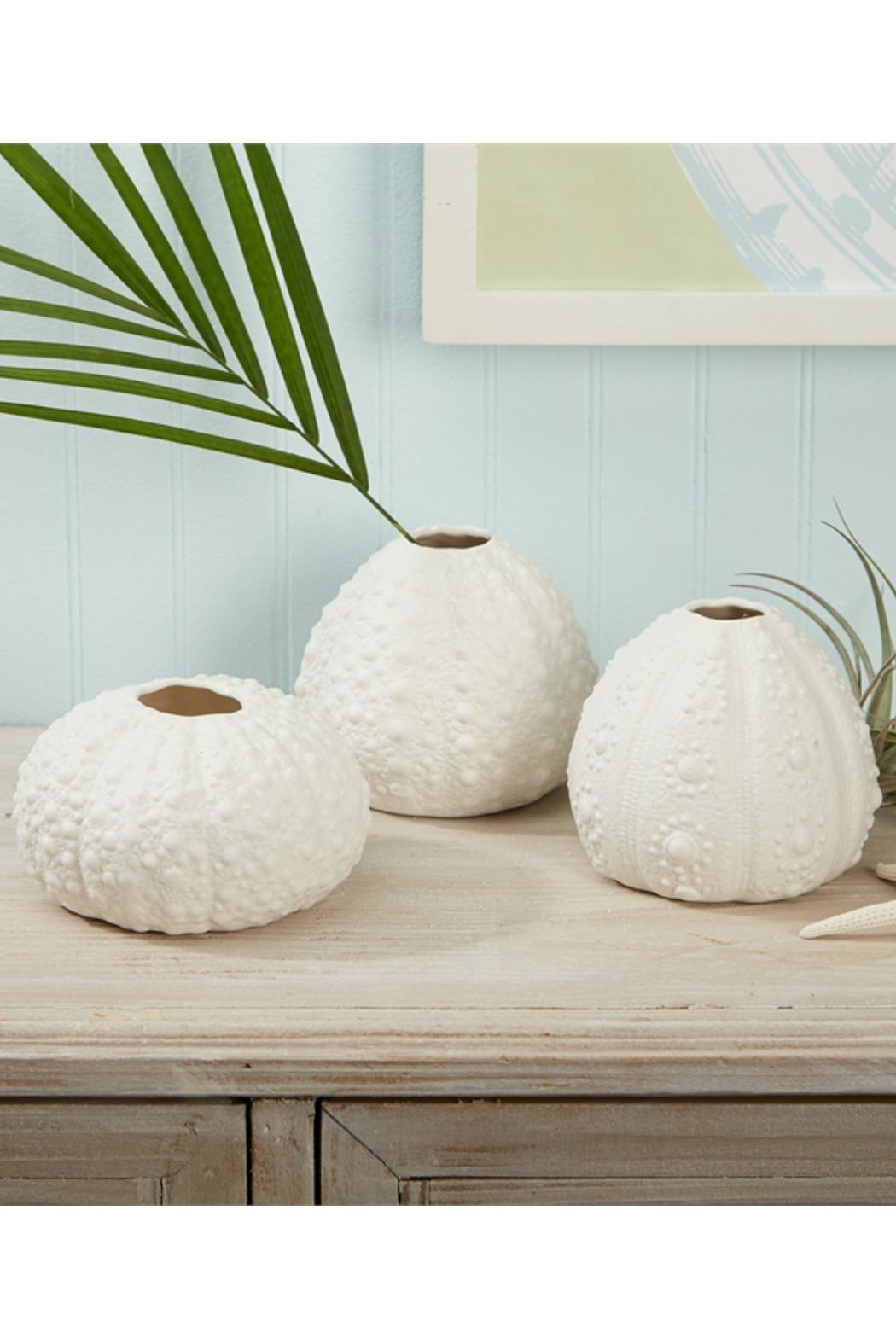 ReCreateU Porcelain Sea-Urchin Vases - Front Cropped Image