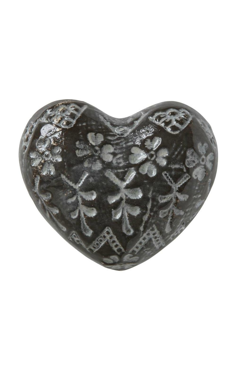 ReCreateU Stoneware Heart - Front Cropped Image