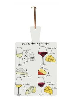 Shoptiques Product: Wine & Cheese Pairings Board