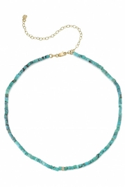 Sydney Evan Rectangle Bead Necklace - Product Mini Image