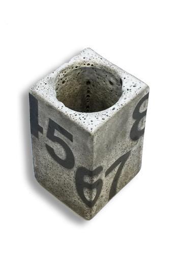 Rectangular Number Vase - Main Image