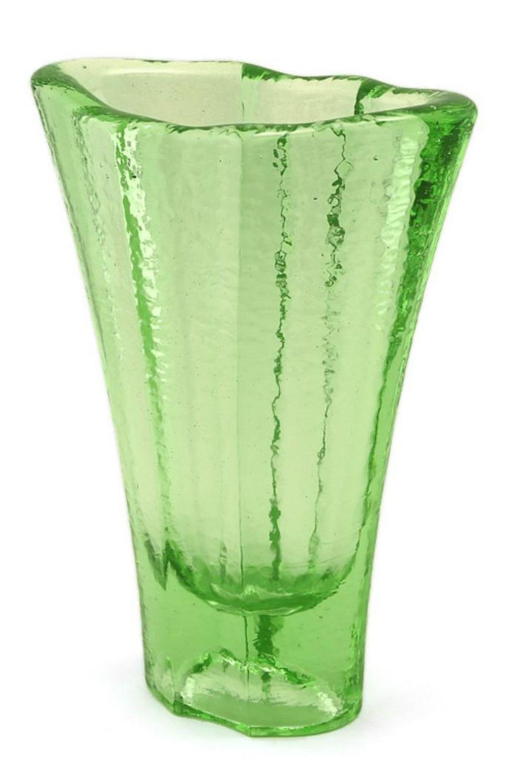 Recycled Glass Vase - Front Full Image