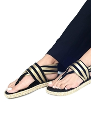 nalho Recycled Yoga Sandals - Front cropped