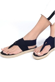 nalho Recycled Yoga Sandals - Front full body