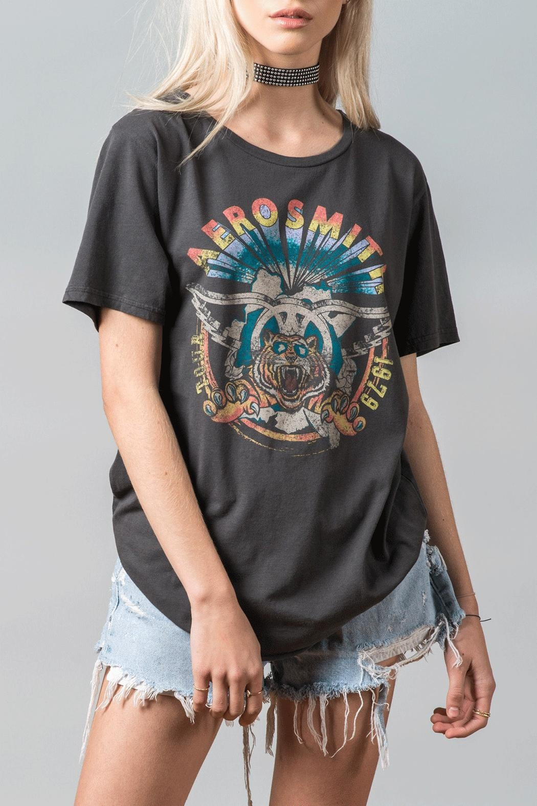 Recycled Karma Areosmith Vintage Tee - Front Full Image