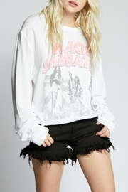 Recycled Karma Black Sabbath Sweatshirt - Front full body