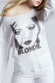Recycled Karma Blondie Bellsleeve Sweatshirt - Product Mini Image