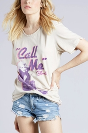 Recycled Karma Call Me Blondie Top - Front cropped
