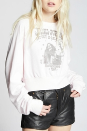 Recycled Karma Janis Joplin Sweatshirt - Back cropped