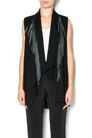 Red 23 Leather Fringe Vest - Product Mini Image