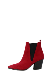 Kennel & Schmenger RED ANKLE BOOT - Front cropped
