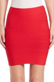 BCBG Max Azria Red Bandage Skirt - Front cropped