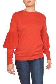 Just Female Red Bell Sweater - Product Mini Image