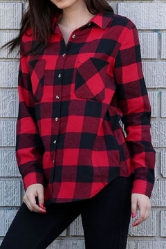 Ambiance Red Black Plaid - Product List Image