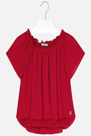 Mayoral Red Blouse - Product Mini Image