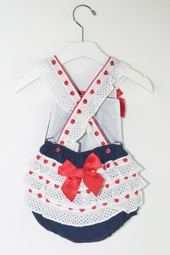 Dolce Petit Red & Blue Romper - Alternate List Image