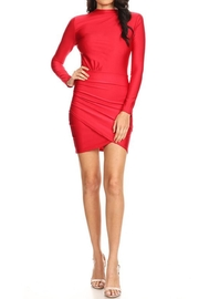 Xtaren Red Bodycon Dress - Product Mini Image