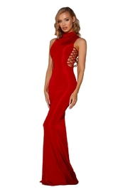 PORTIA AND SCARLETT Red Bodycon Long Formal Dress - Product Mini Image