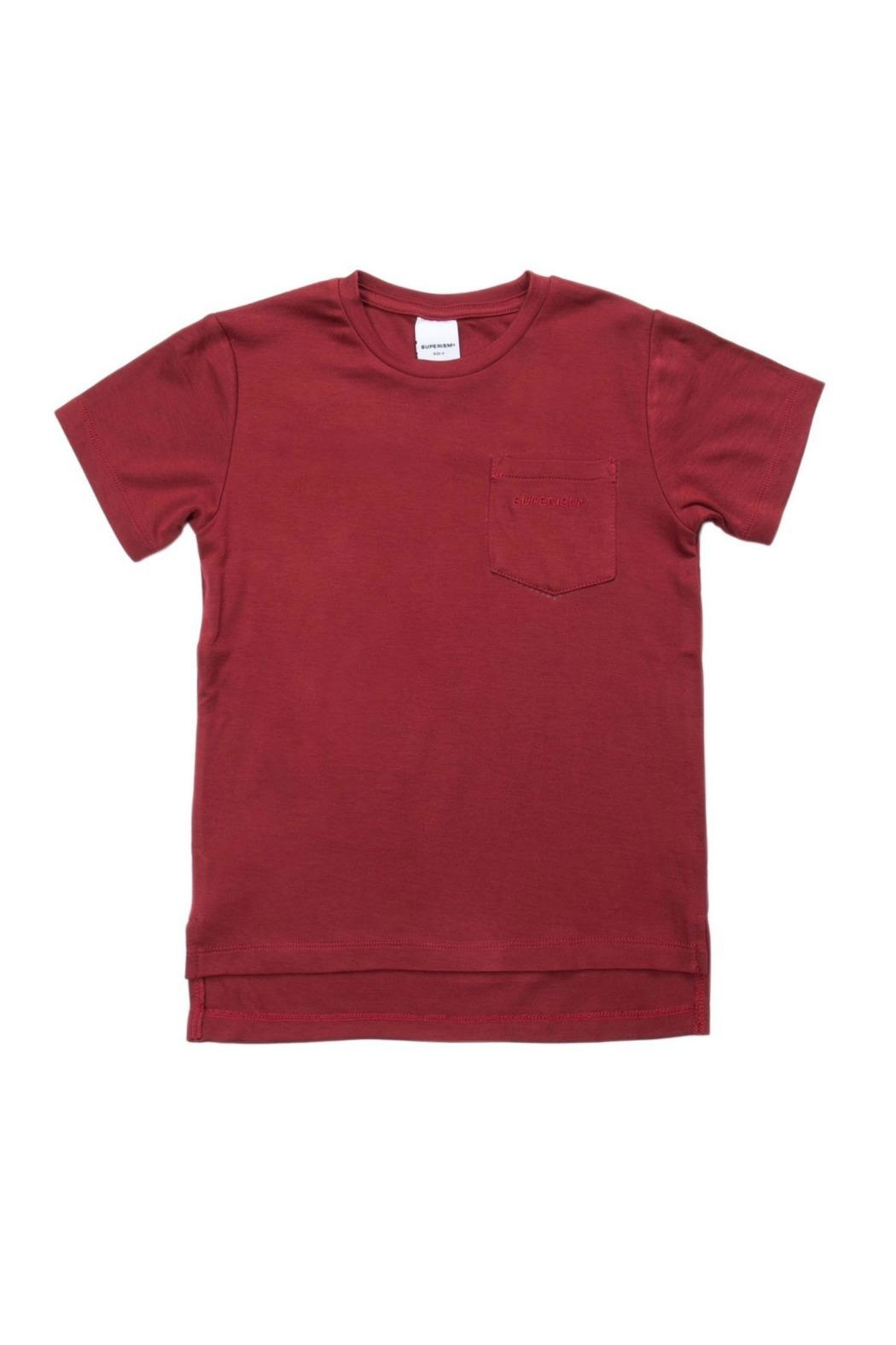 Superism  Red Boone Tee - Main Image