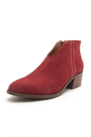 Qupid Red Bootie - Product Mini Image