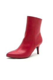 Qupid Red Booties - Product Mini Image