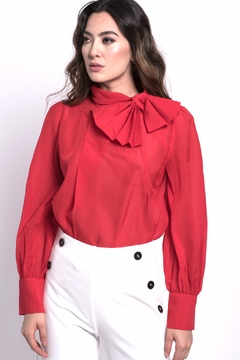 Shoptiques Product: Red Bow Top
