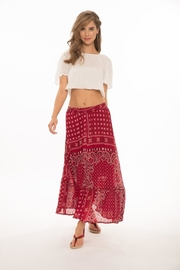 Muche et Muchette Red Briana Skirt - Product Mini Image