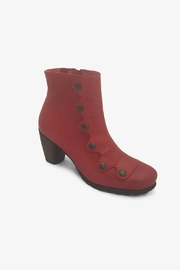 Chanii B Red Button Boot - Product Mini Image