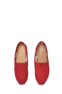 TOMS Red Canvas Toms - Alternate List Image