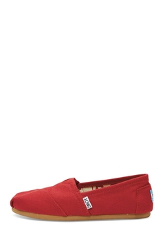 TOMS Red Canvas Toms - Product List Image