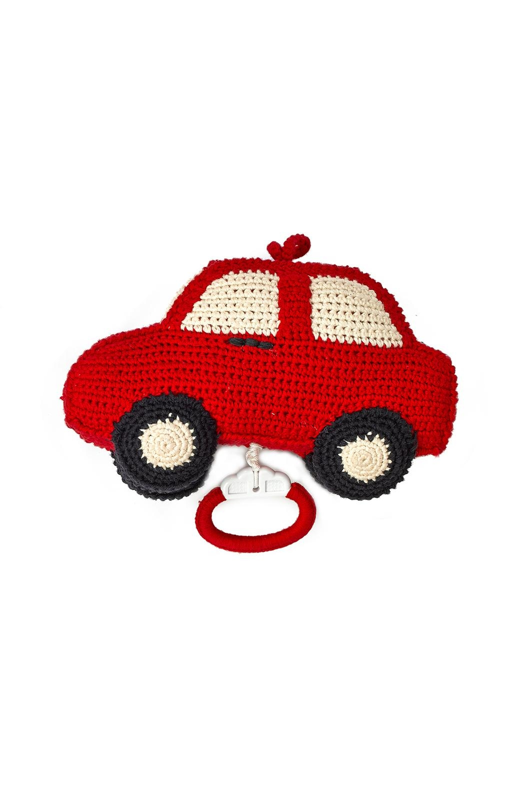 anne-claire petit Red-Car Music Box - Main Image