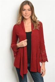 Available Red Cardigan - Product Mini Image