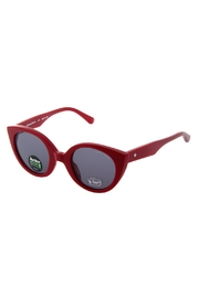 ZooBug Red Catseye Sunglasses - Front cropped