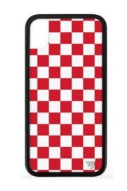 wildflower Red Checker Case - Front cropped