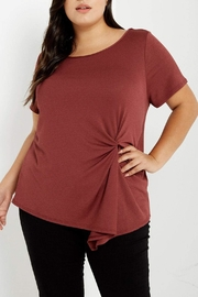 MaiTai Red Cinched Top - Product Mini Image