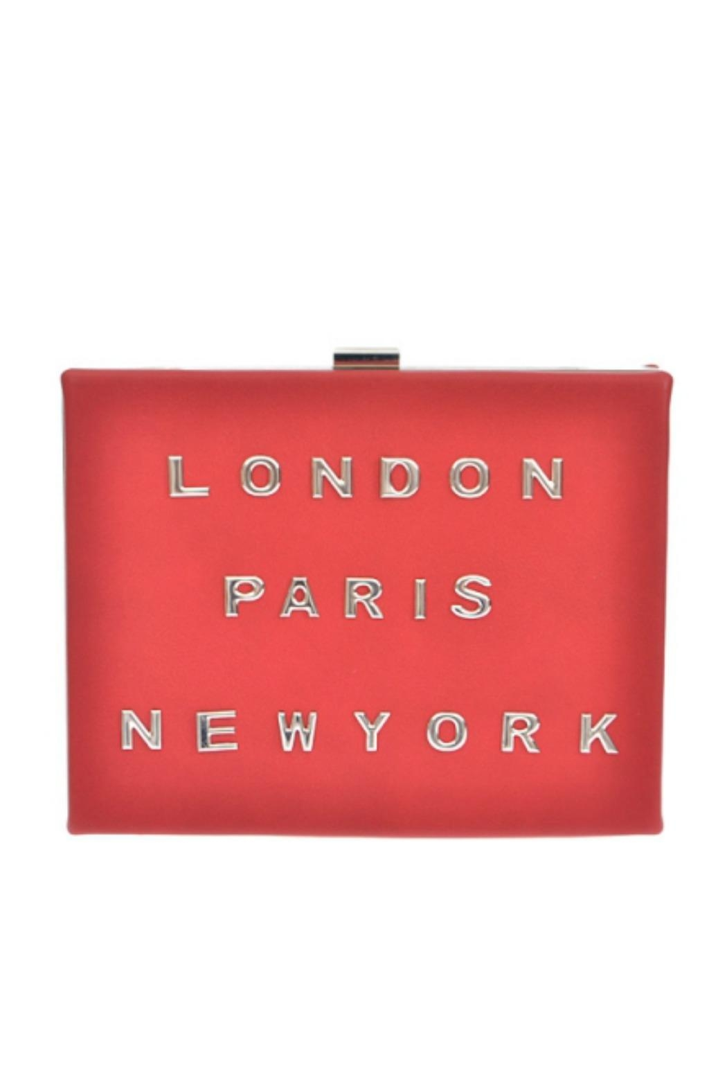 Petunias Red Cities Clutch - Main Image