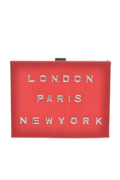 Shoptiques Product: Red Cities Clutch