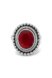 Wild Lilies Jewelry  Red Corundum Ring - Product Mini Image