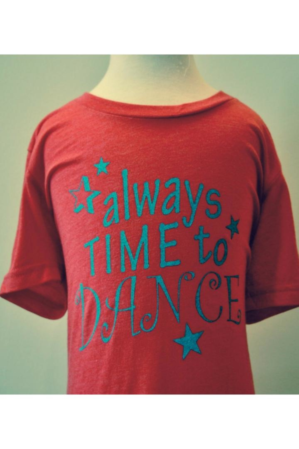 Canvas Red Dance T-Shirt - Main Image