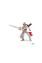 Papo Red Dragon King With Sword - Product Mini Image